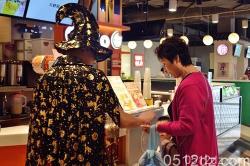本周末昆山百盛购物中心万圣节主题活动