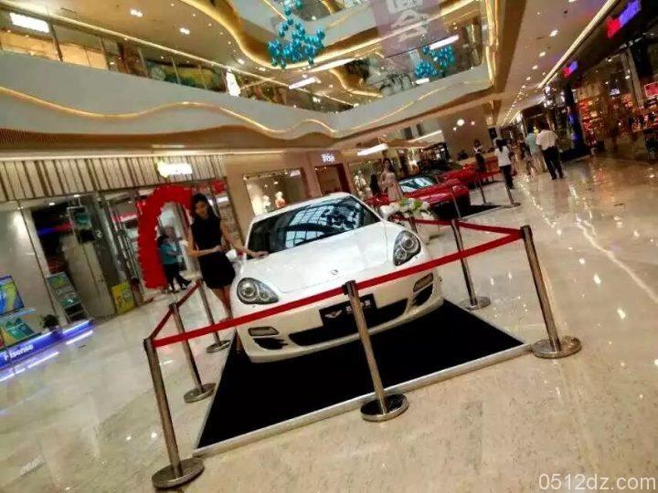 名车中国联手昆城广场带来车展盛宴