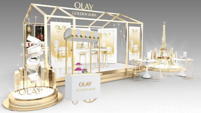 人民路昆山商厦Olay香槟Bar快闪店母亲节正式亮相