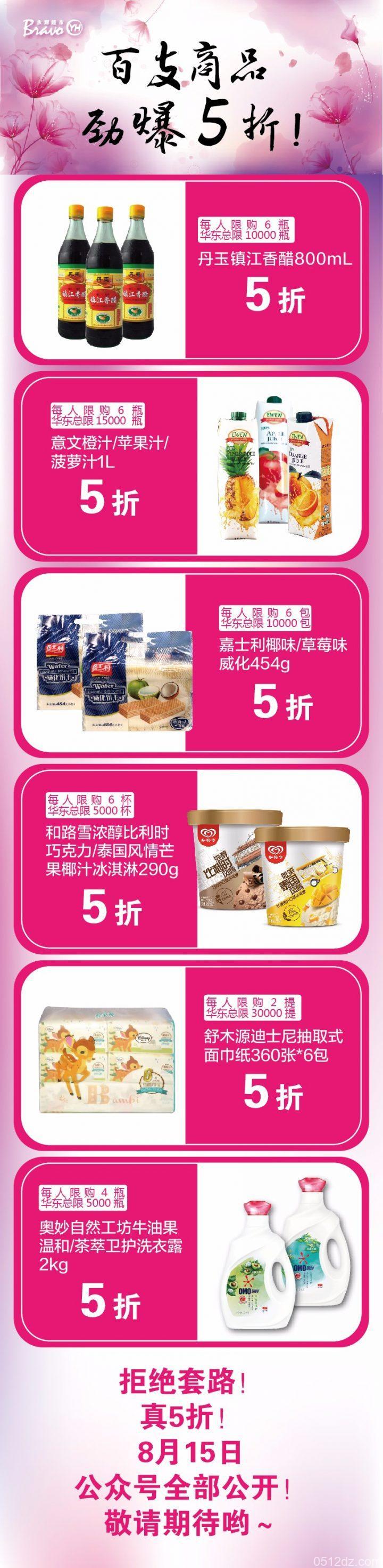 弥敦城永辉超市5折活动