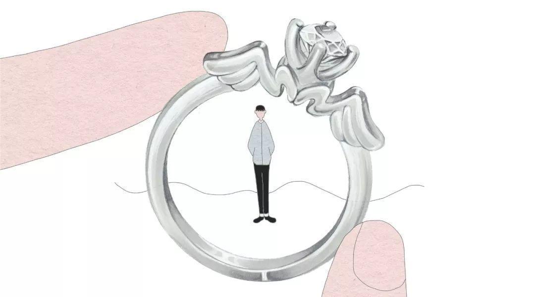 BLOVE定制婚戒昆山九方新店开业四重礼