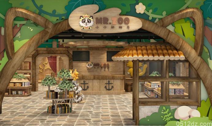 九方新店Mr.Zoo小小动物元开业
